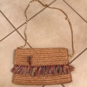 Handbags - Woven crossbody bag